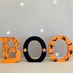 Boo Letters for kids rooms at halloween