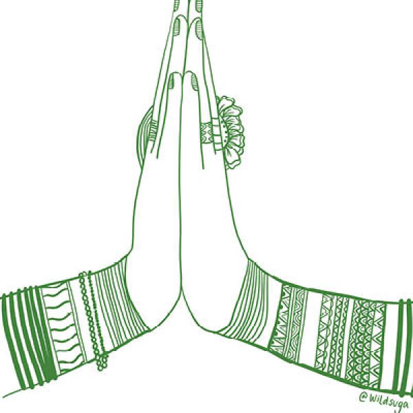 Prayer Hands by Wild Suga